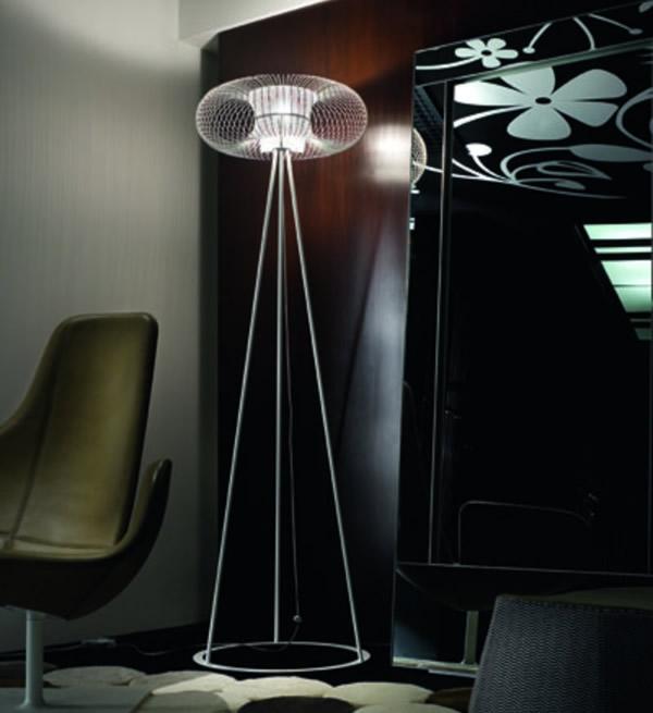 Spring TE lámpara of Floor Lamp Black