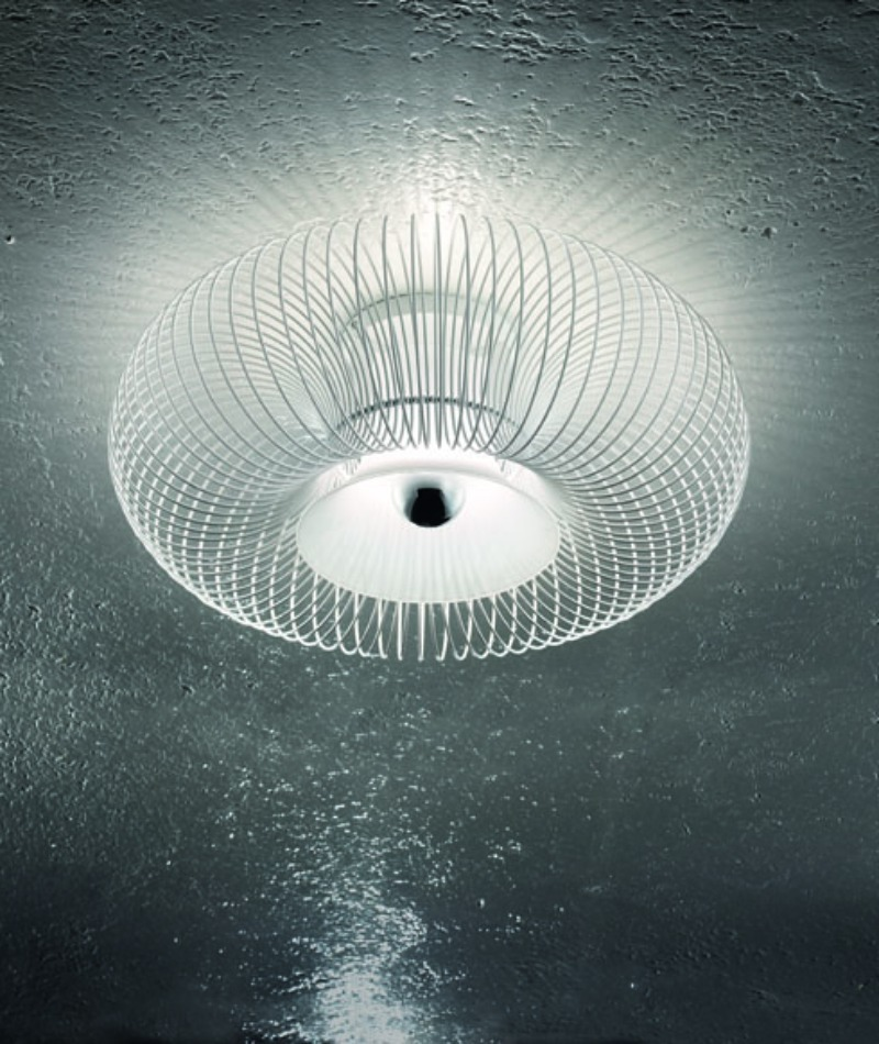 Spring PL 55 ceiling lamp white