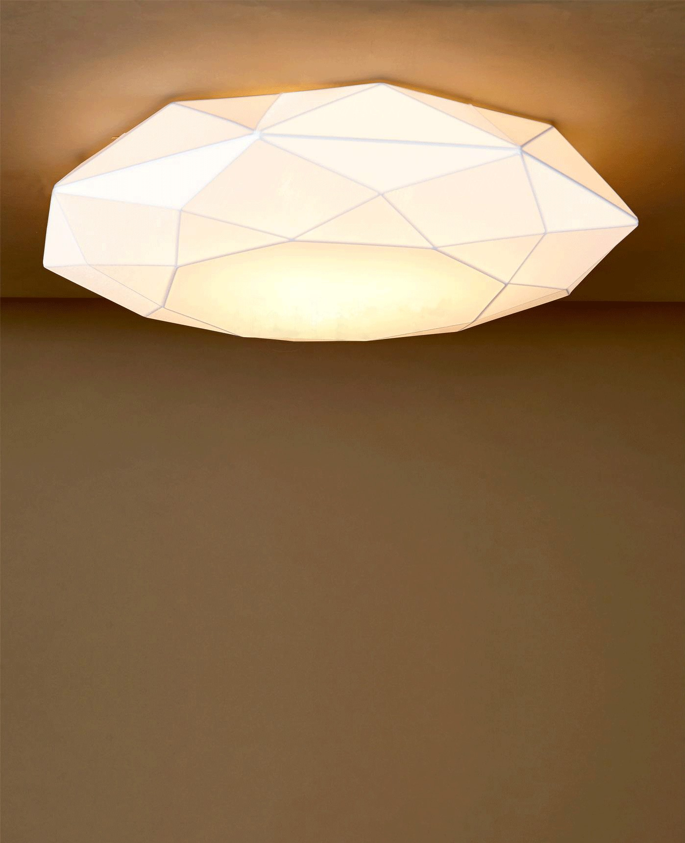 Diamond PP60 ceiling lamp 2x20w E27 PL E white