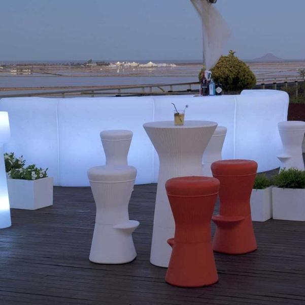 Corfu 74 stool Outdoor 40x74cm
