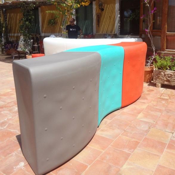 Ibiza Color table white