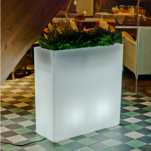 Junco 80 planter Light Wireless LED RGB with bateria recargable