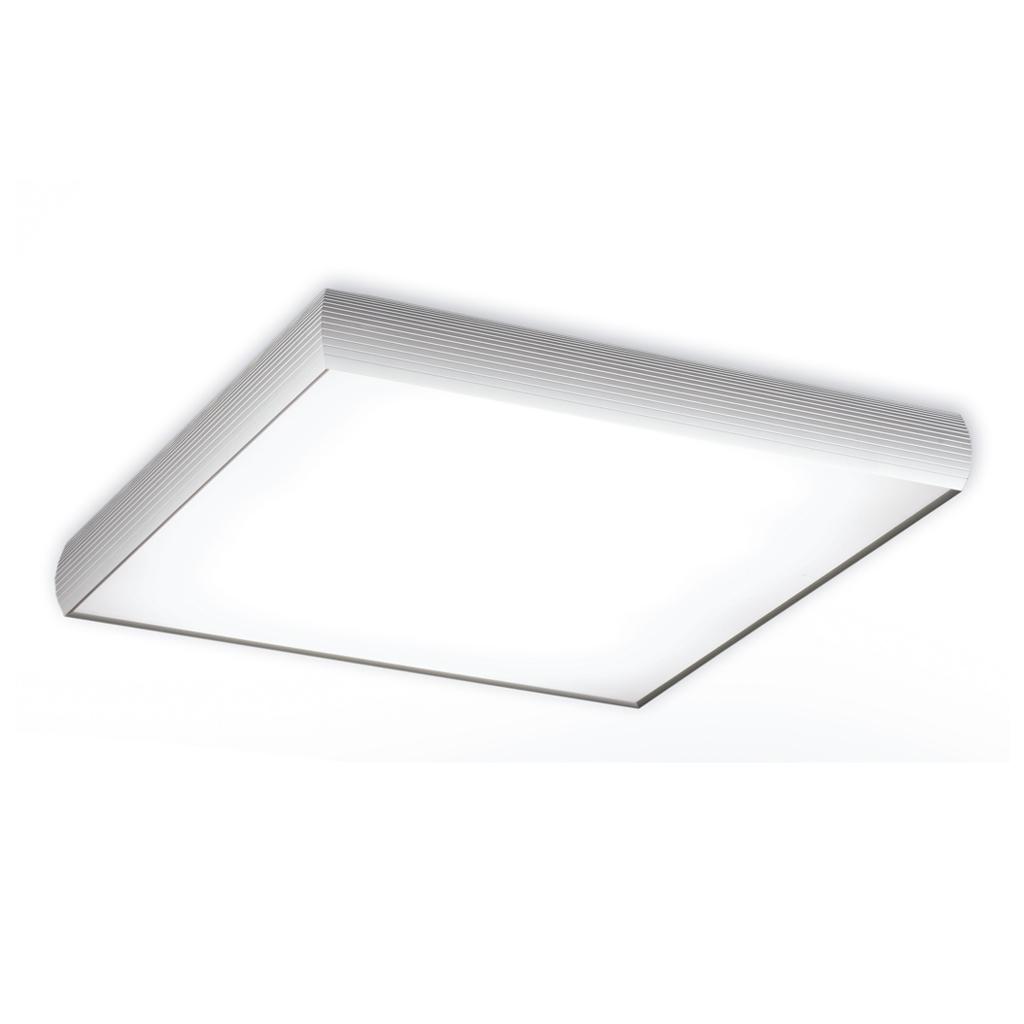 Aluminium ceiling lamp electrónico 4x2G11 36w