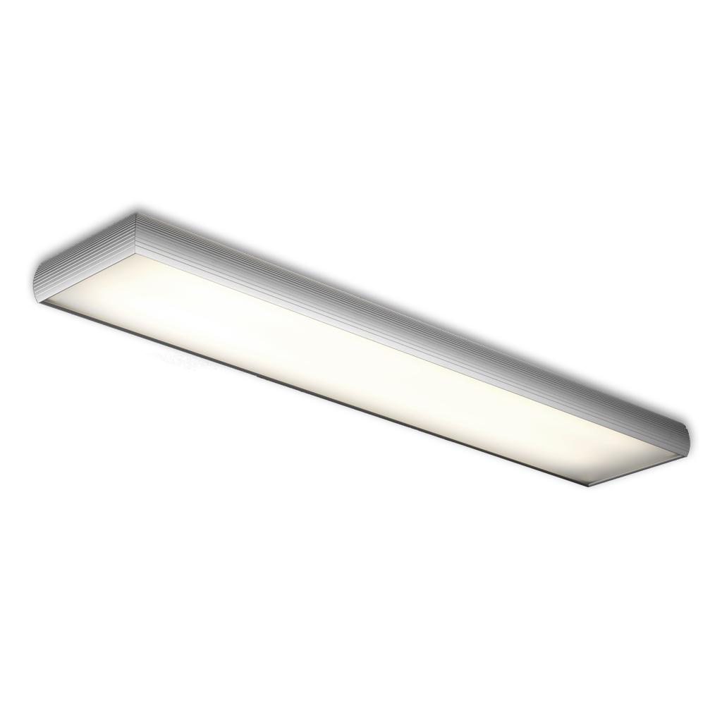 Aluminium ceiling lamp ELECTRO 2xG5 54w