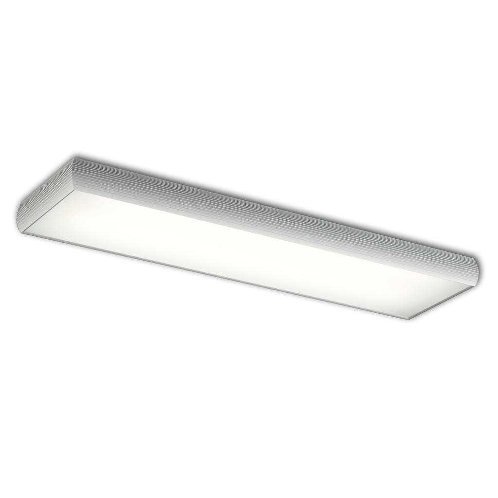 Aluminium ceiling lamp ELECTRON 2xG5 39w
