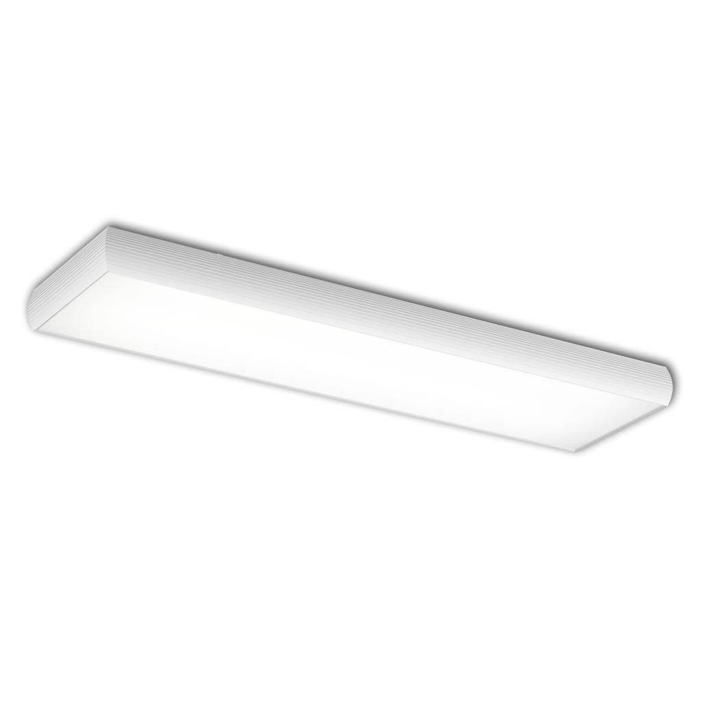 Aluminium ceiling lamp ELECTRO 2xG5 39w white matt