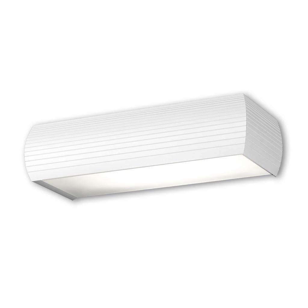 Aluminium luz de parede 1xE27 20w branco fosco/Cromo Satin