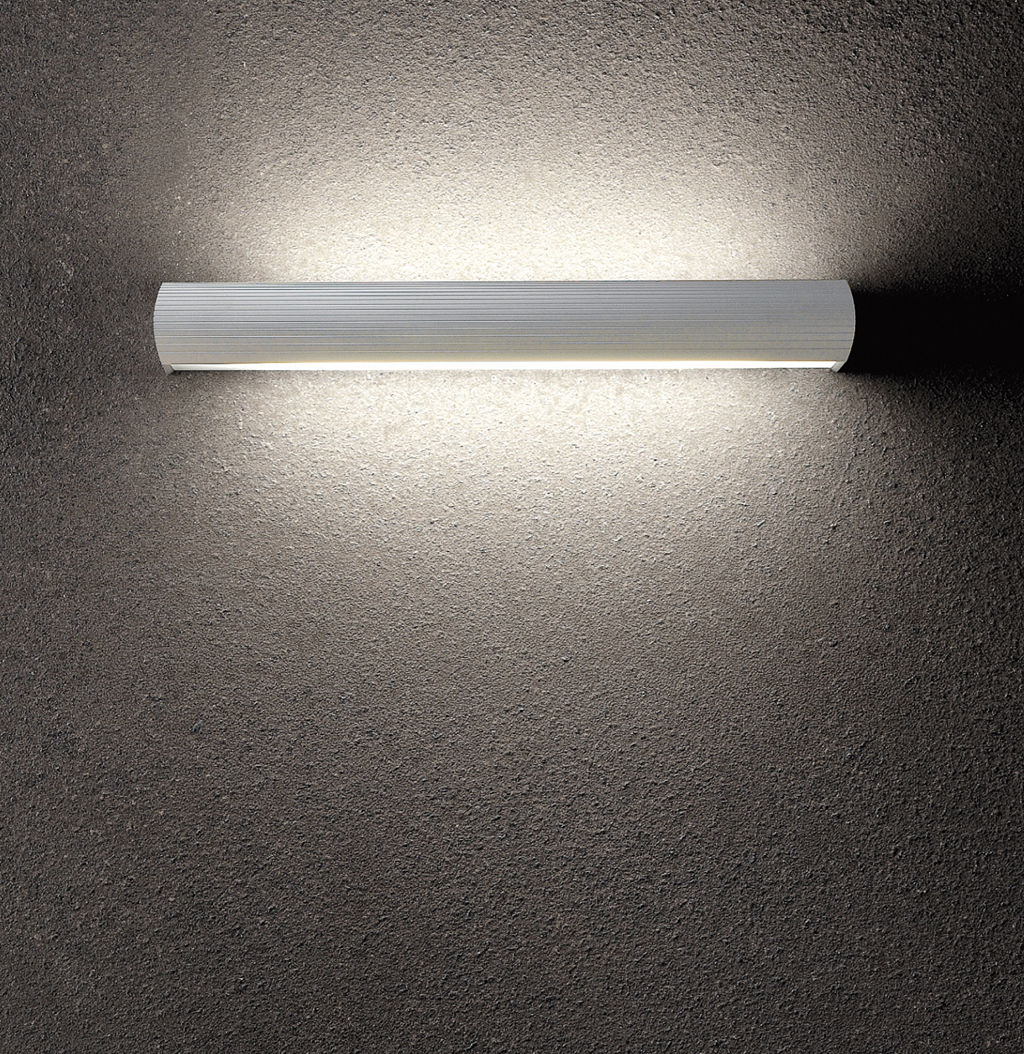 Aluminium Wall Lamp 1xE27 20w Chrome Satin