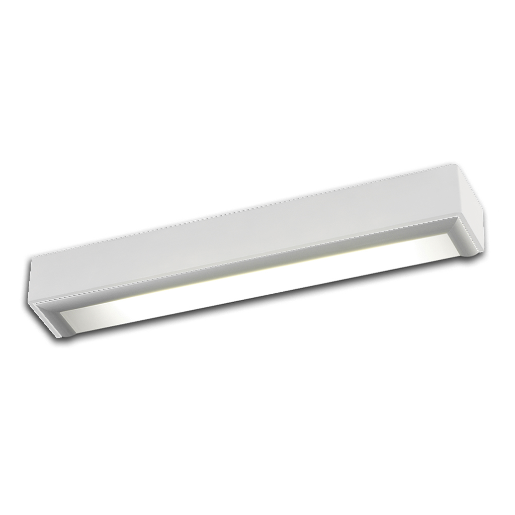 Box Wall Lamp ALUM white BRILLO 1xE27 20w