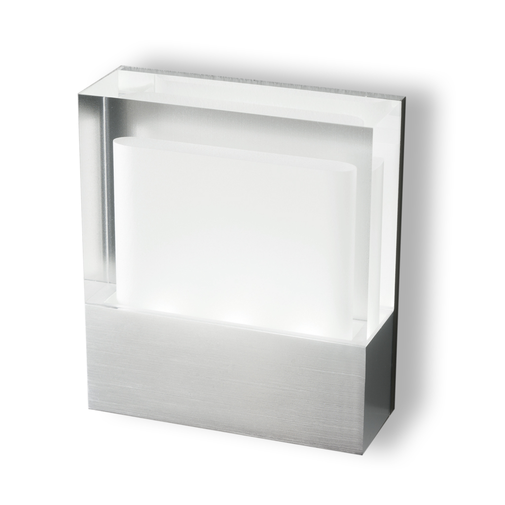 Cool Recessed 1xLED 3w Aluminium/methacrylate