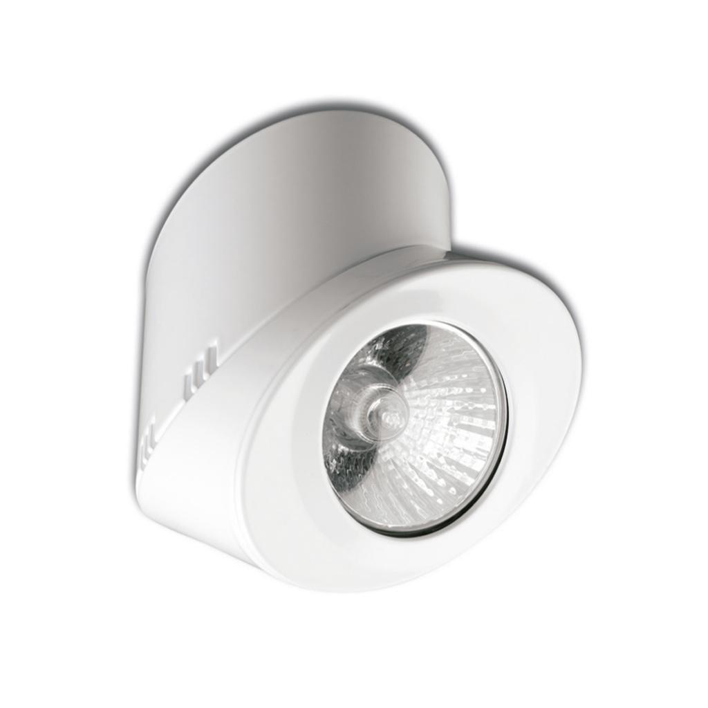 Elipse oval Spotlight 1xGU10 50w white matt
