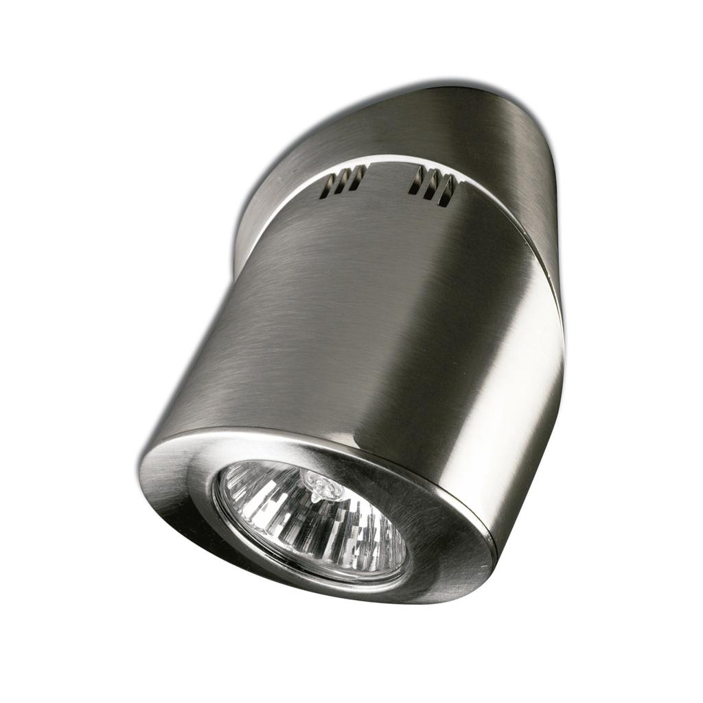 Elipse oval Spotlight 1xGU10 50w Chrome Satin