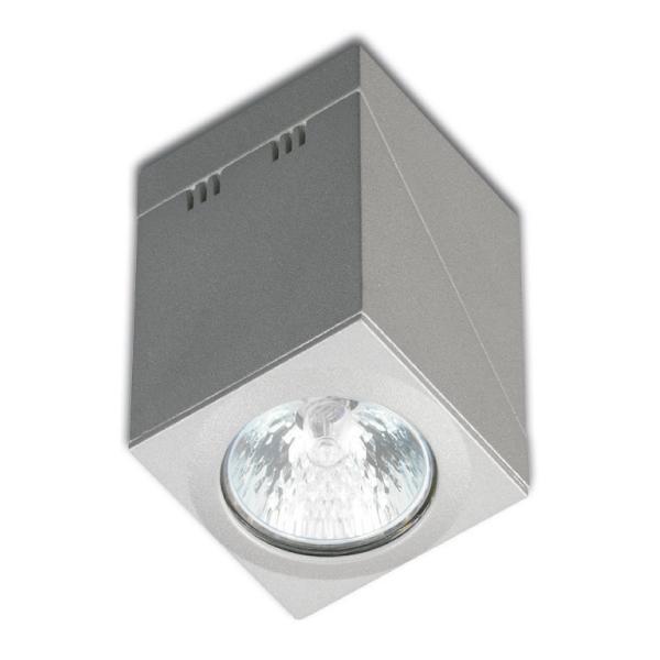 Practyk Recessed 1xGU10 50w G.Silver