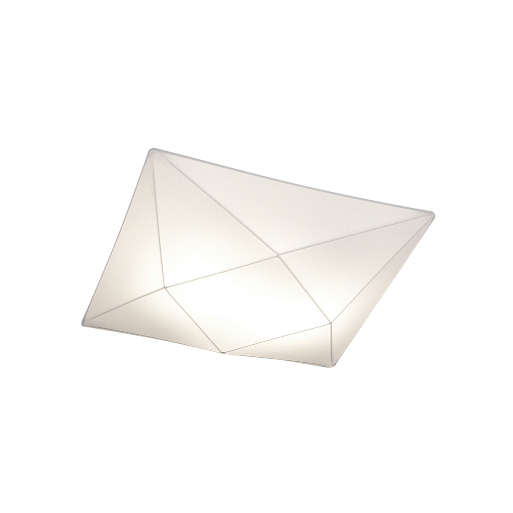 Polaris ceiling lamp of fabric 42cm E27 2x15w fabric white