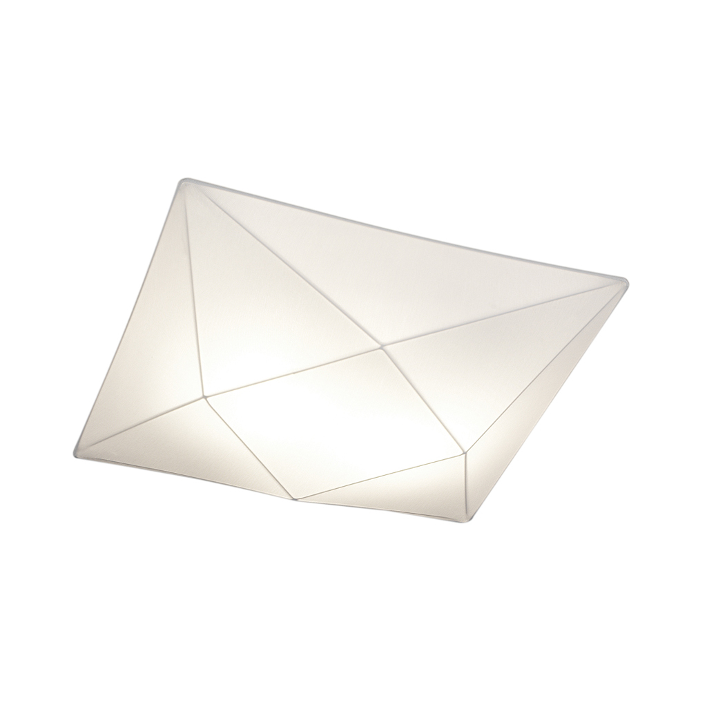 Polaris ceiling lamp of fabric 80cm E27 4x20w fabric white