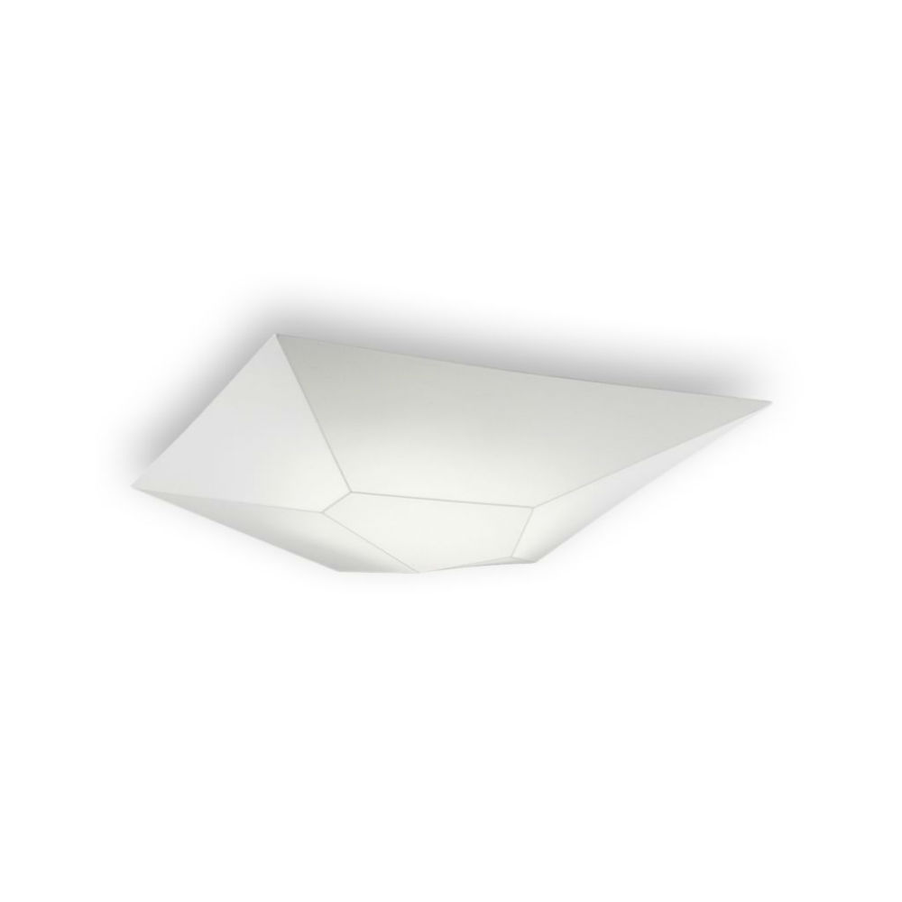 Halley ceiling lamp 100cm 5xE27 20w fabric white