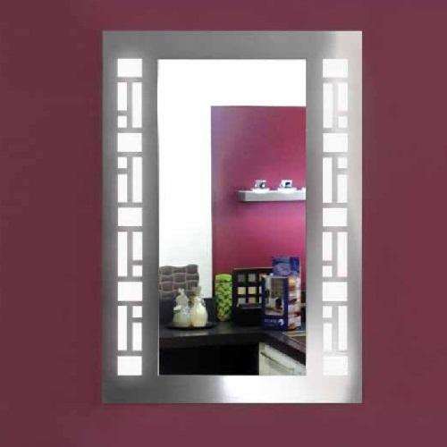 Ada espejo acero Inoxidable decoracion rectángulos