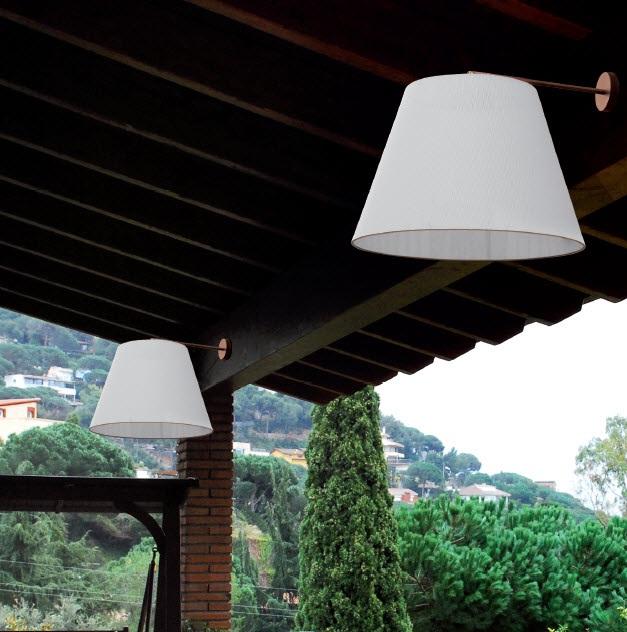 Irene Wall Lamp pintado white 50cm
