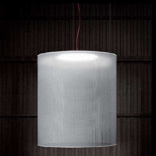 Odysea Lámpara Colgante pantalla gris 30cm