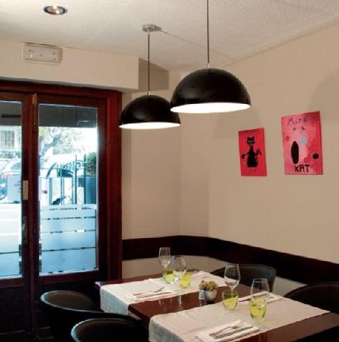 Onix Lámpara Colgante 45cm LED17W negro-Cromo