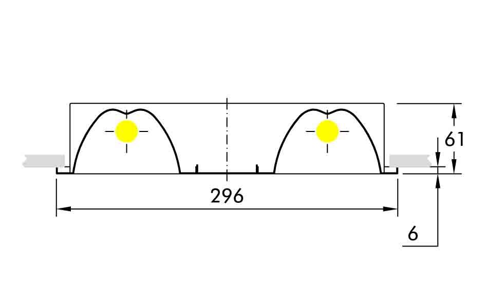 lampshade JOYA T5 YTVV224 VIS CONTEL