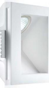 Empotrable Gesso blanco GX5.3 Luce INDIR.