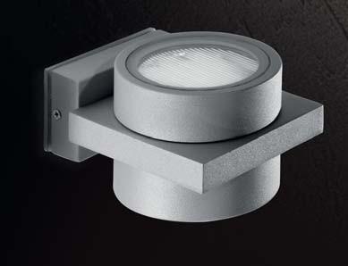 DUETTO Wall Lamp 2 X GX53 9W Aluminium IP55