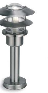 TOKYO lámpara von Stehlampe h.45 E27 15w stahl IP44