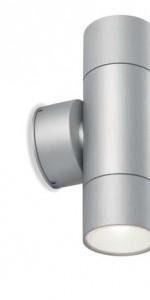MIAMI 2x GU10 9W Aluminio IP54
