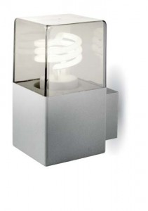 HELSINKI Aplique IP54 Aluminio E27 15W
