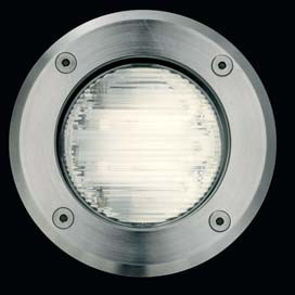 OBLO Micro GX53 9w circolar steel IP67