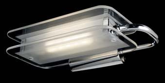 TUTTOTONDO big 120W 117mm Cromo v.satin.
