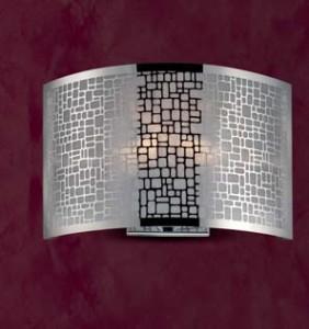 Ariel Wall Lamp E14 Chrome