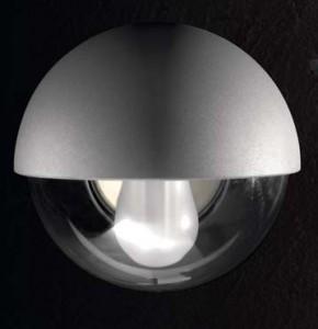Bella E27 15W Aluminio IP44