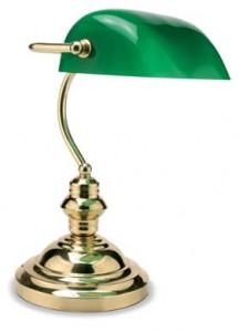 FAR WEST Baby ottone lucido Vidrio Verde