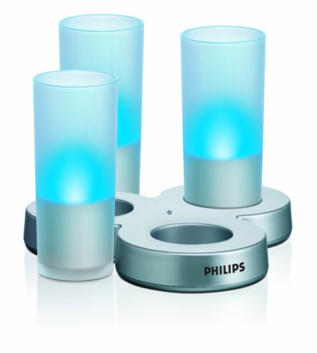 IMAGEO LED velas, set of 3 + cargador