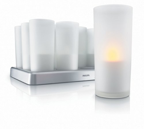 IMAGEO LED velas, set of 12 + cargador
