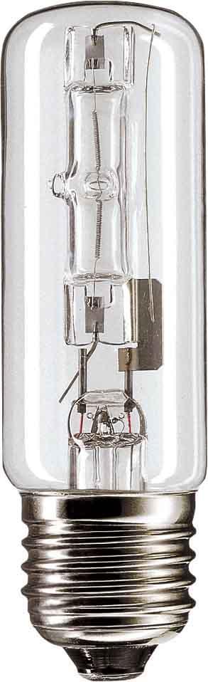 Halogen Classic Tubular Bulb Halogen Hal to ES 105W E27 230V QT32 CL