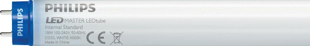 Bombilla LED Master LEDtube GA110 15w G13 100/240v white Frío 6500K + starter