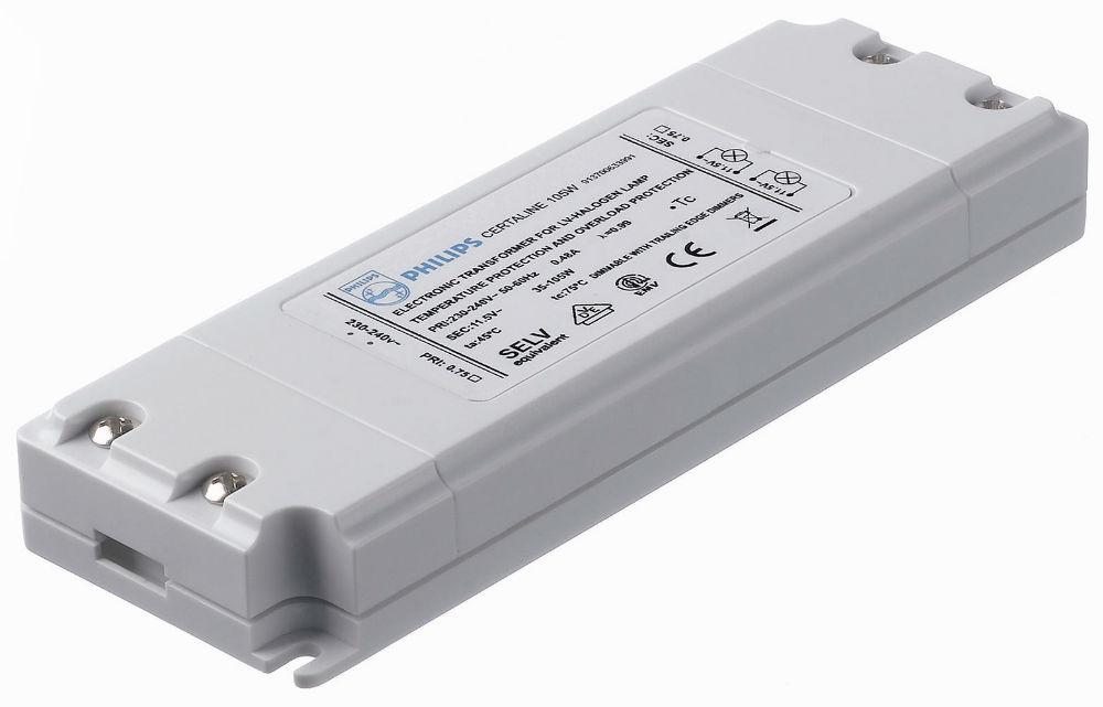 Certaline 105W 230 240V 50/60Hz Transformador elecrónico