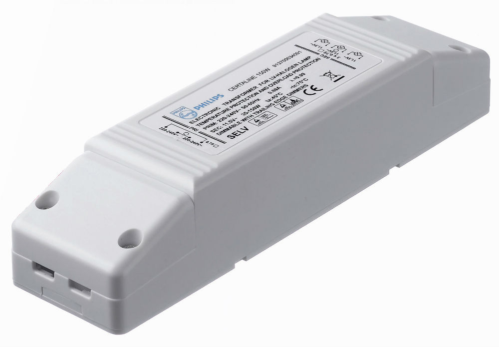 Certaline 150W 230 240V 50/60Hz Transformador elecrónico