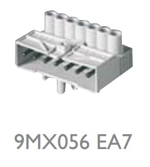 Maxos TL D 9MX056 EA7 (conector eléctrico para conexiones externas)