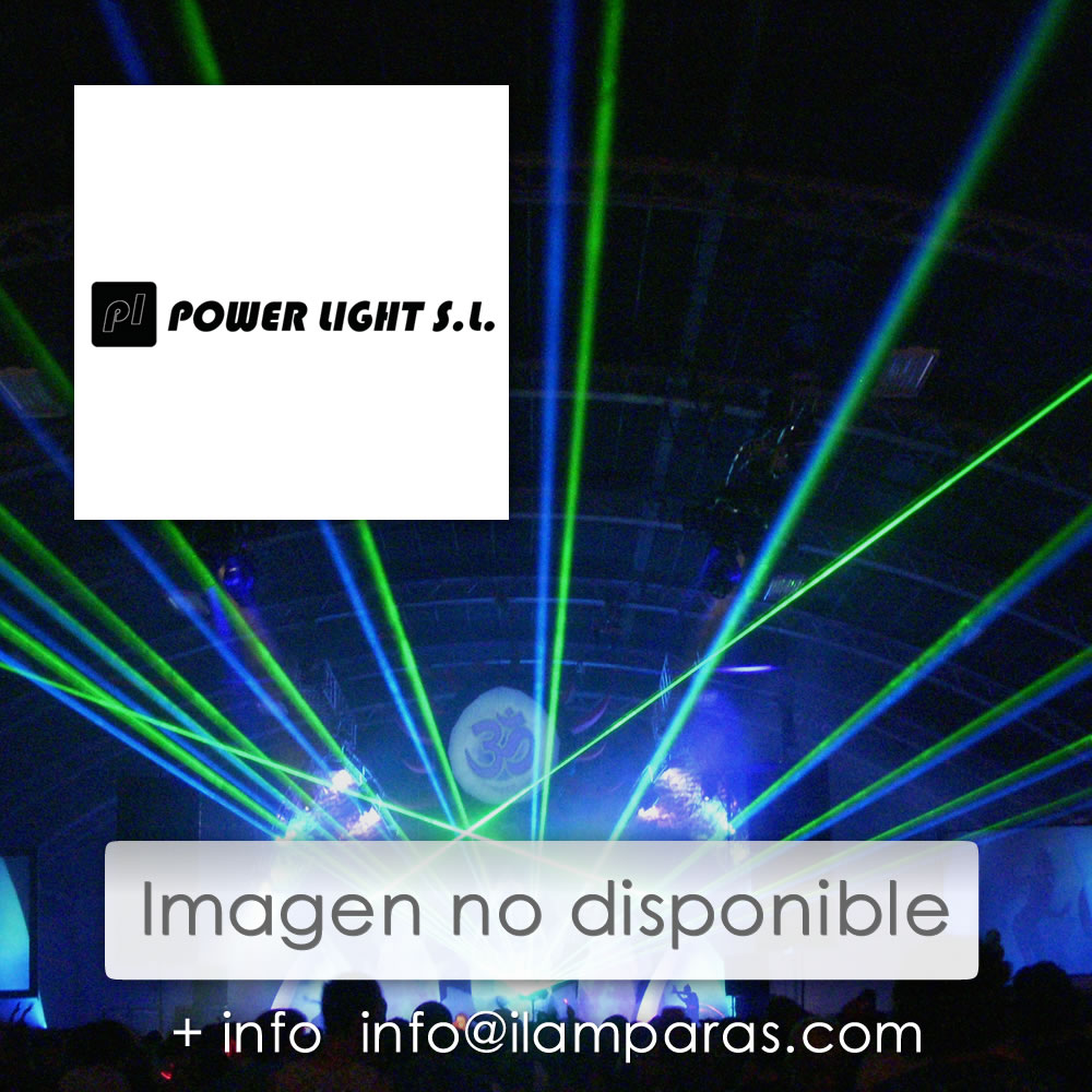Foco PAR 36 LED RGB 61 LED,S 10mm Plata