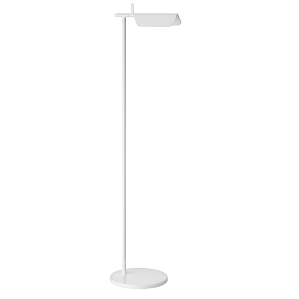 Tab F1 LED lámpara of Floor Lamp 110cm LED 5w White Shiny