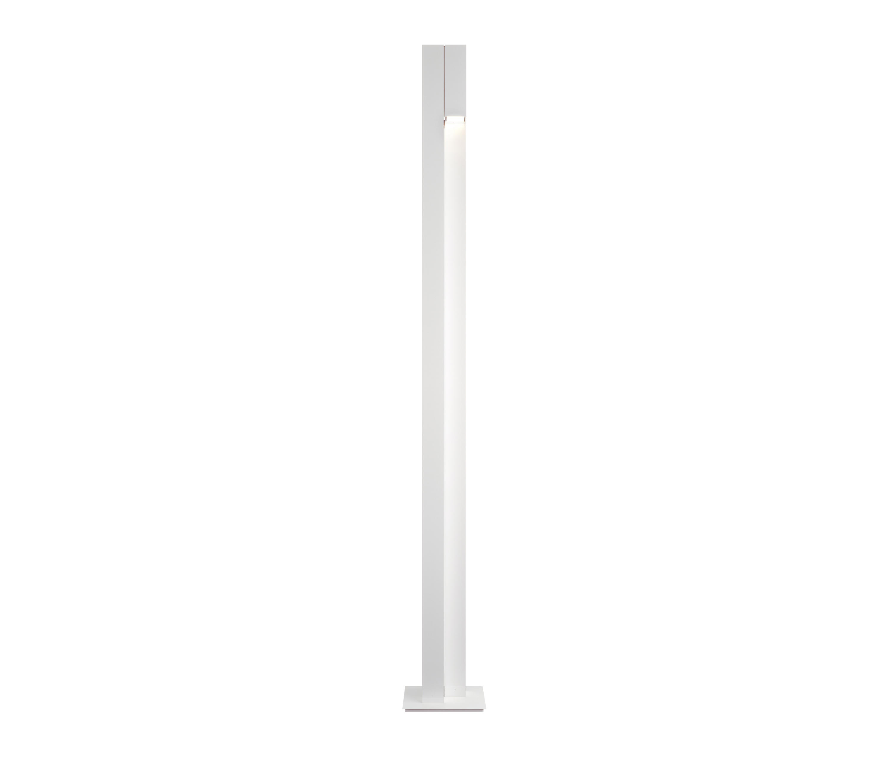 Duo P 3259 lámpara of Floor Lamp with intensity regulator R7s 200w + GU10 2x50w white