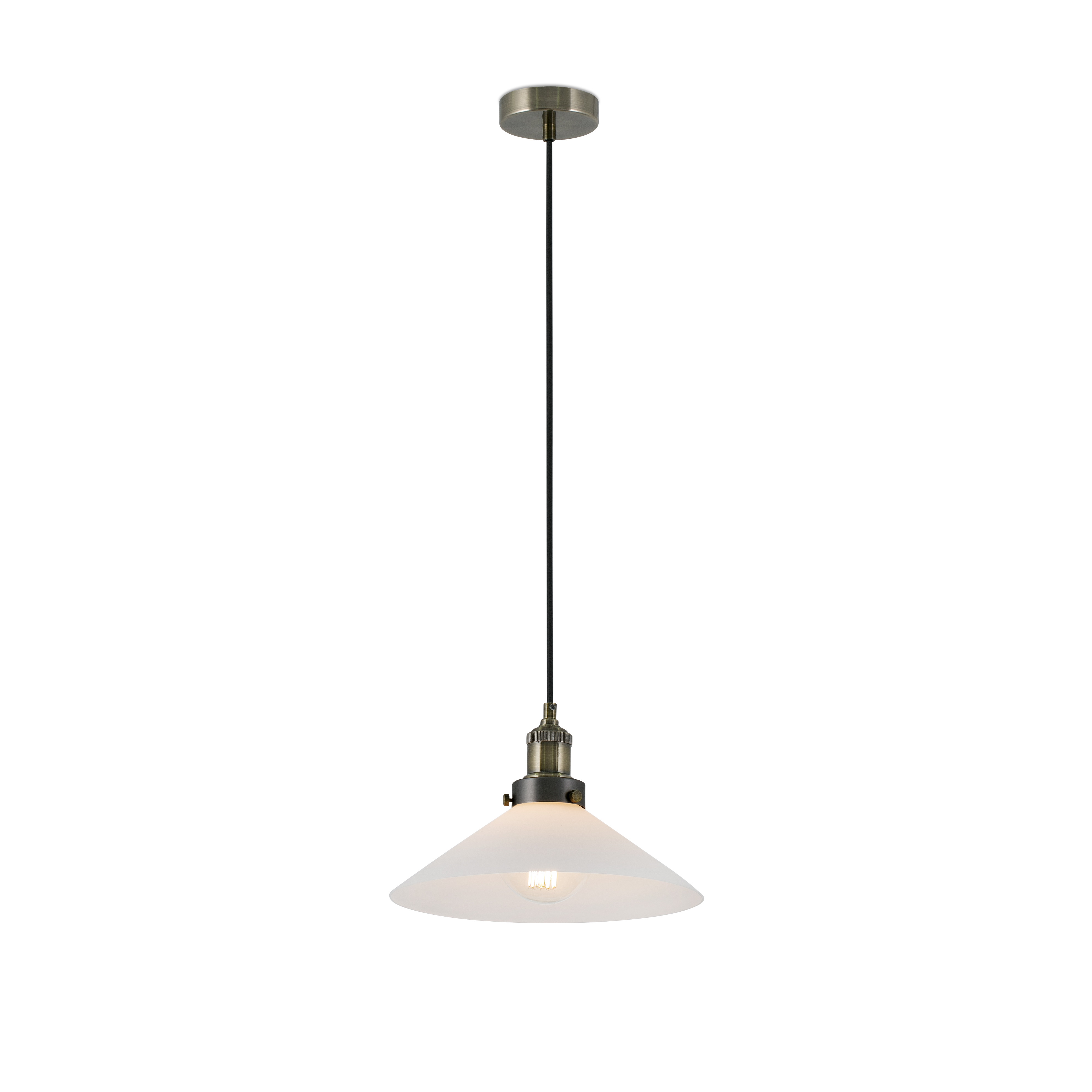 Marlin Pendant Lamp E27 60w White