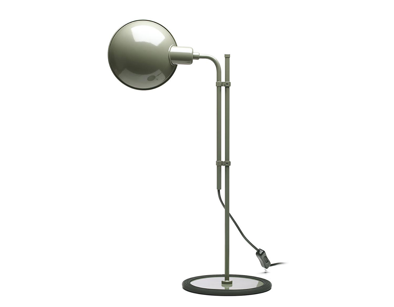 Funiculí­ S Table Lamp E14 46W Grey musgo