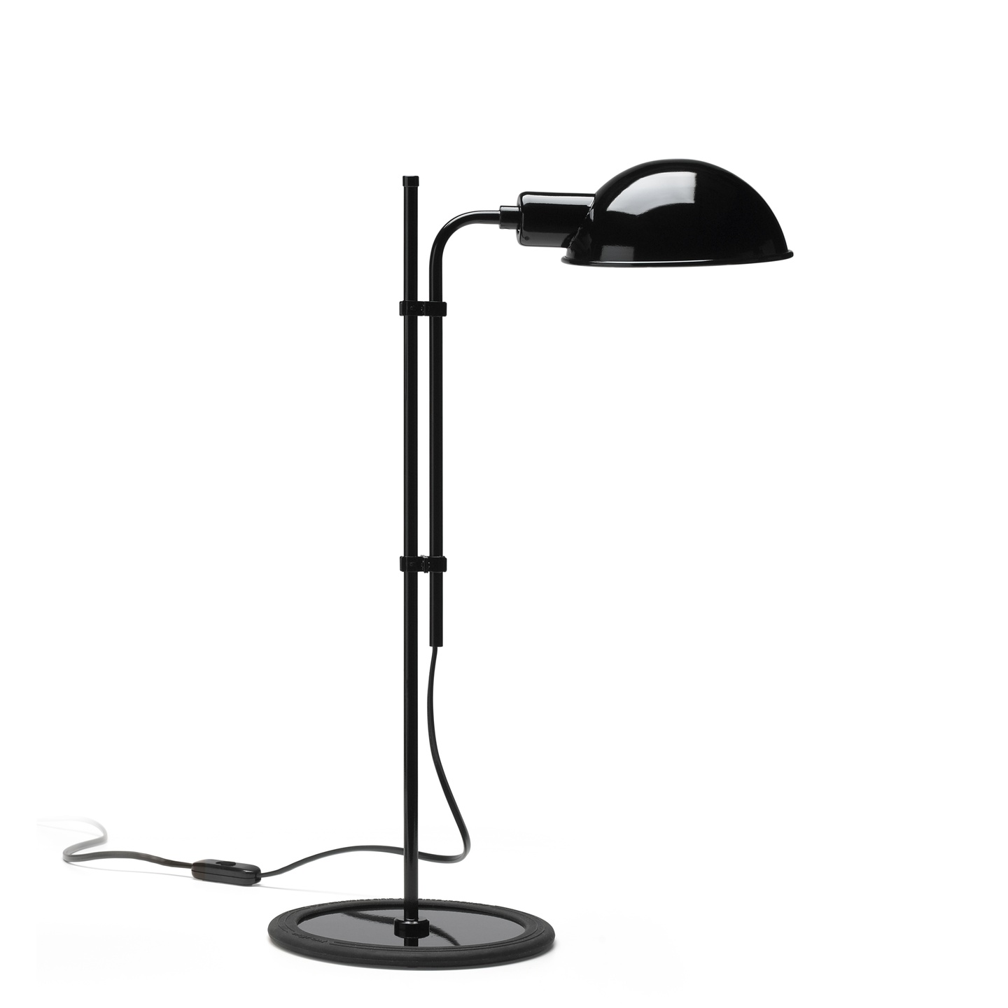 Funiculí­ S Lampe de table E14 46W Noir
