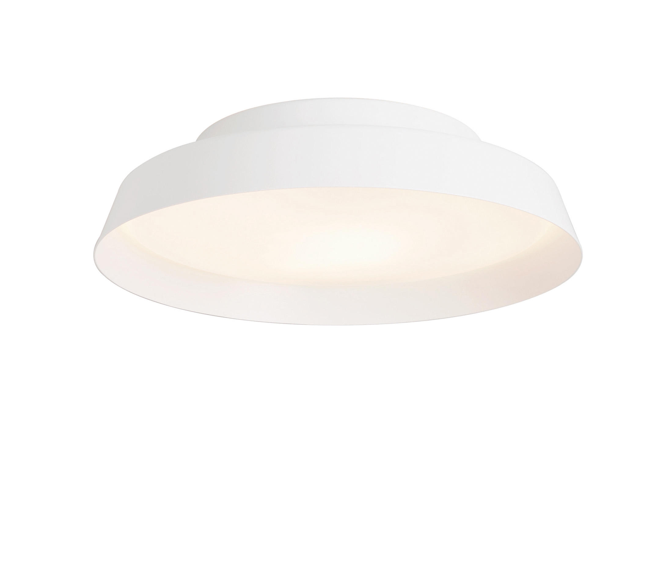 Boop luz de parede/lâmpada do teto ø37cm E27 2x22w Branco/Branco