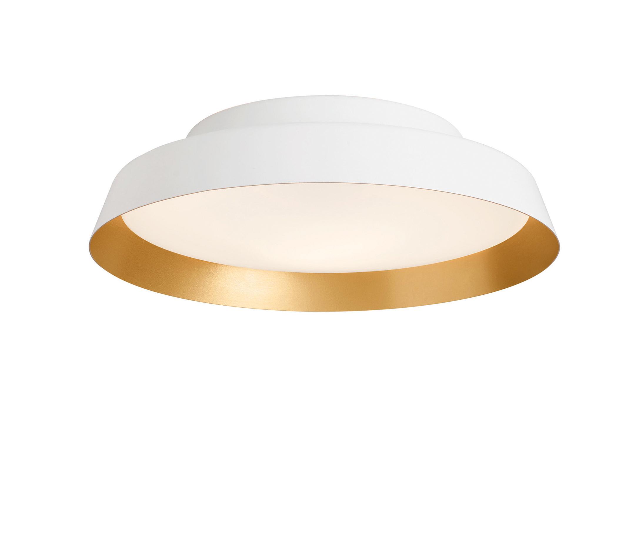 Boop Wall lamp/ceiling lamp ø37cm E27 2x22w White/Oro